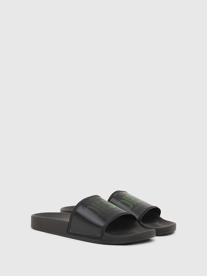 Diesel - SA-VALLA, Black - Slippers - Image 2