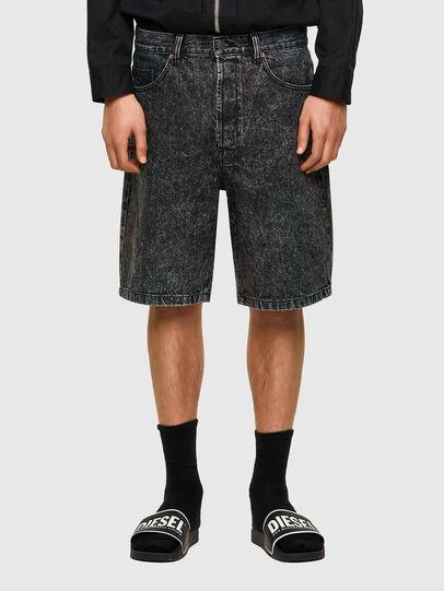 Diesel - D-MAXS-SP, Black - Shorts - Image 1