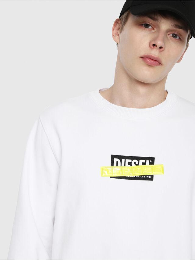 Diesel - S-GIR-DIE, White - Sweaters - Image 3