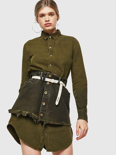 Diesel - DE-DESY-Z, Military Green - Dresses - Image 4