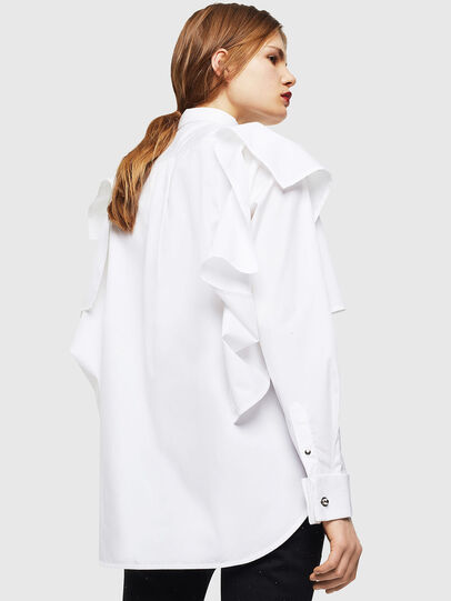 Diesel - C-RAILY-SHAPED, White - Shirts - Image 2