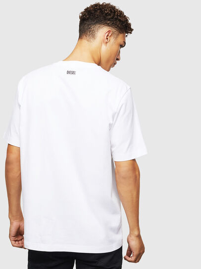 Diesel - T-JUST-J9, White - T-Shirts - Image 3