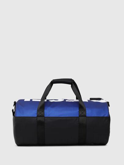 Diesel - BOLD DUFFLE, Black/Blue - Bags - Image 2