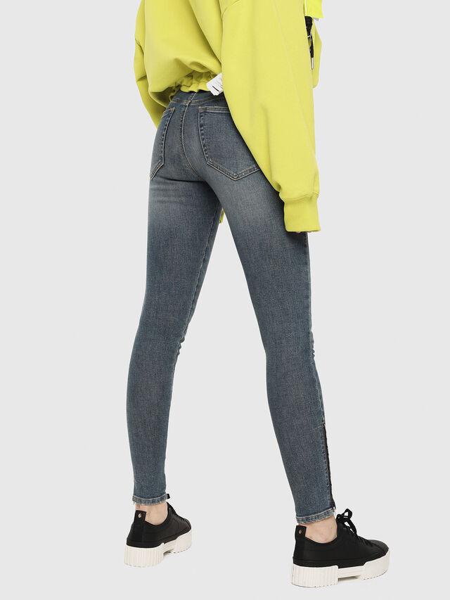 Diesel - Slandy Zip 085AZ, Medium blue - Jeans - Image 2