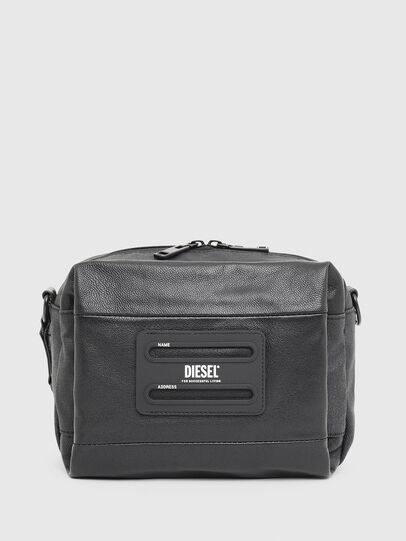 Diesel - D-SUBTORYAL SMALLCRO, Black - Crossbody Bags - Image 1
