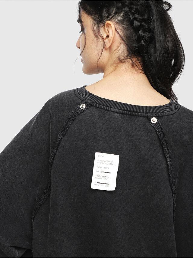 Diesel - F-CAROL, Black - Sweaters - Image 5