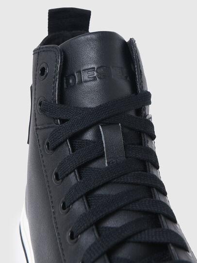 Diesel - S-ASTICO MID CUT W, Black - Sneakers - Image 5