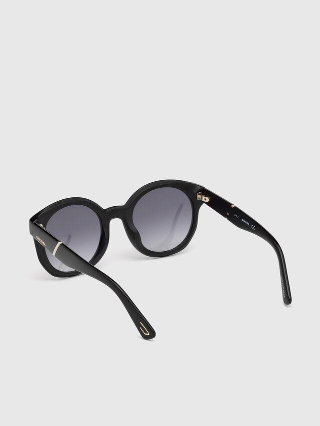 Diesel - DL0252, Black - Sunglasses - Image 2