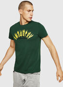 T-DIEGO-A10, Dark Green - T-Shirts