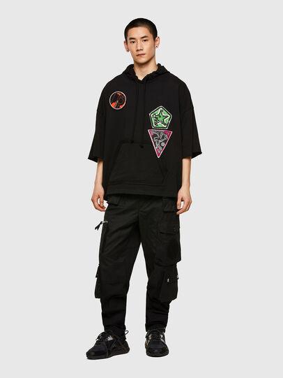 Diesel - S-GIGA, Black - Sweaters - Image 5