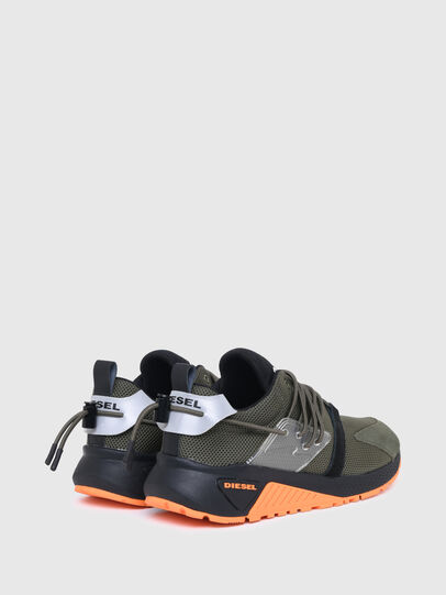 Diesel - S-KB UP LACE, Military Green - Sneakers - Image 3