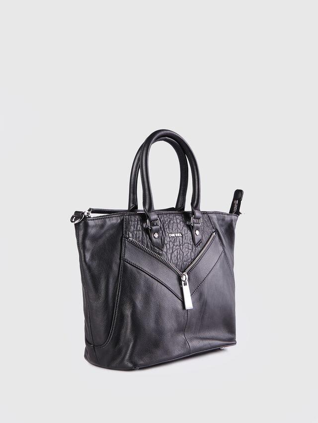 Diesel - LE-NINNA, Black - Shopping and Shoulder Bags - Image 2