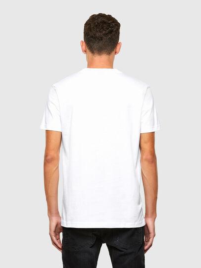 Diesel - T-DIEGOS-N35, White - T-Shirts - Image 2
