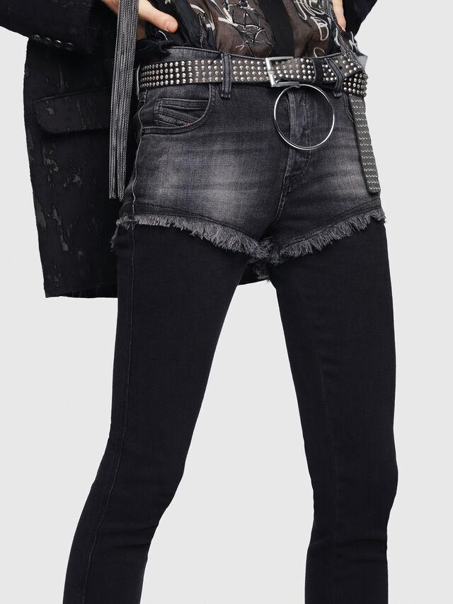 Diesel - Babhila 089AD, Black/Dark grey - Jeans - Image 3