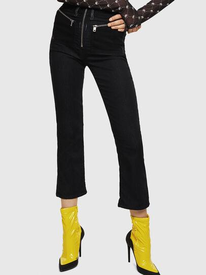 Diesel - D-FLORY JOGGJEANS, Black - Jumpsuits - Image 5