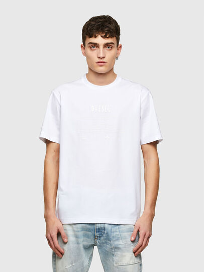 Diesel - T-JUST-E7, White - T-Shirts - Image 1
