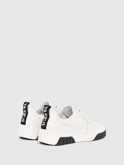 Diesel - S-RUA LOW, White - Sneakers - Image 3