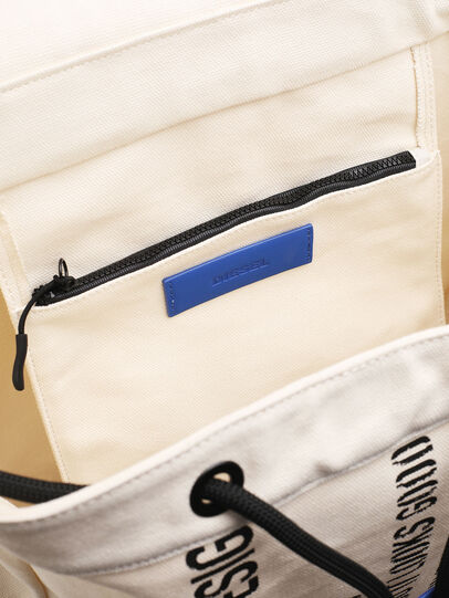 Diesel - VOLPAGO BACK, White - Backpacks - Image 4