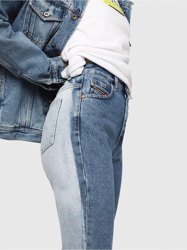 Diesel - D-Eiselle 0077V, Medium blue - Jeans - Image 3