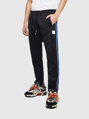 P-YEGOX, Black/Blue - Pants