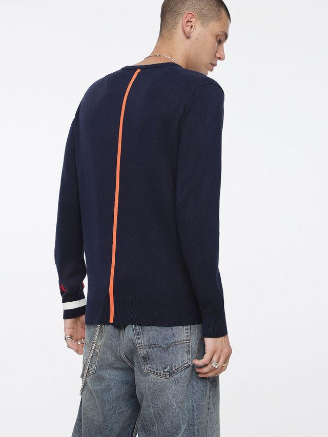 Diesel - K-LOT, Dark Blue - Knitwear - Image 2