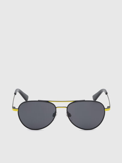 Diesel - DL0291, Black/Yellow - Kid Eyewear - Image 1