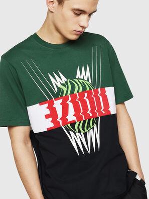 T-JUST-A11, Green/Black - T-Shirts