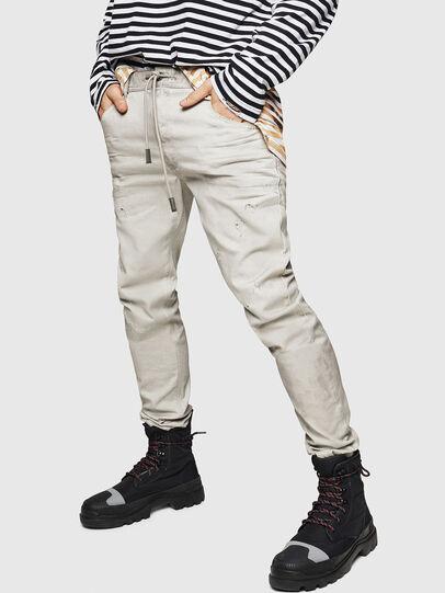 Diesel - Krooley JoggJeans 069GT, Light Grey - Jeans - Image 1