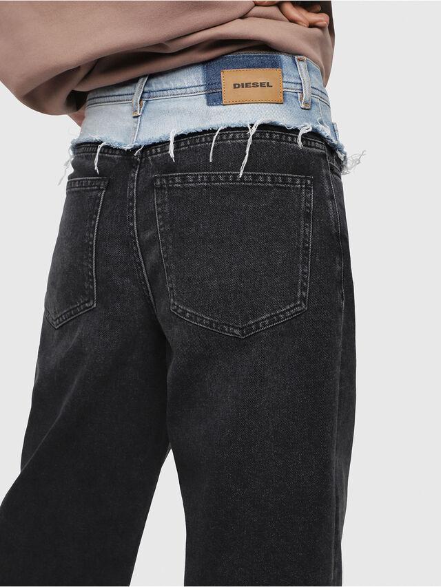 Diesel - Widee 088AB, Black/Dark grey - Jeans - Image 4