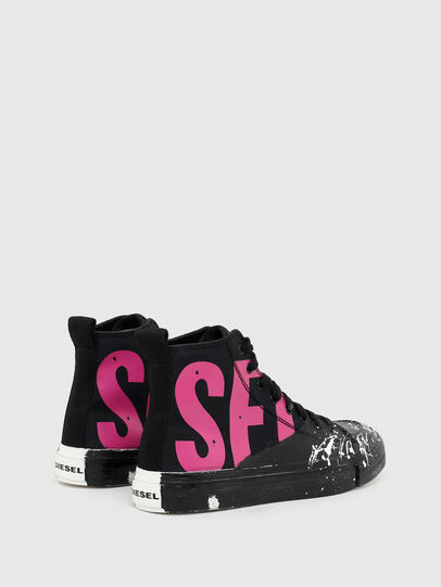 Diesel - S-ASTICO MC W, Black/Pink - Sneakers - Image 3