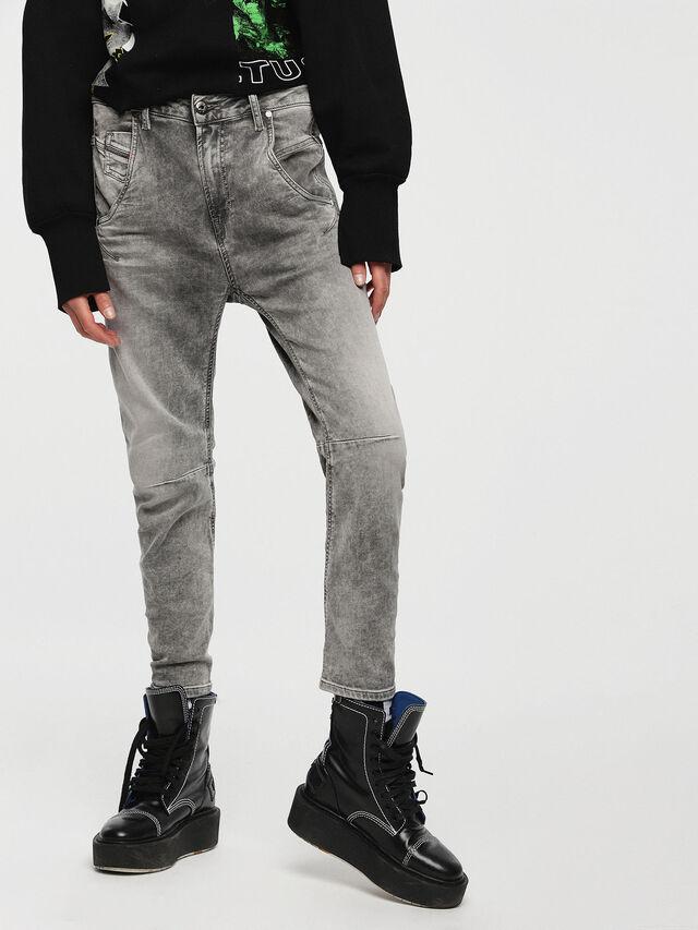 FAYZA JOGGJEANS 0855B, Grey jeans