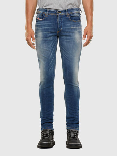 Diesel - Sleenker 009FC, Medium blue - Jeans - Image 1