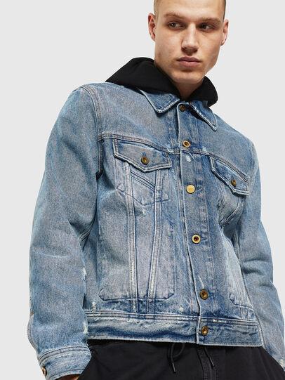 Diesel - D-BRAY, Blue Jeans - Denim Jackets - Image 1