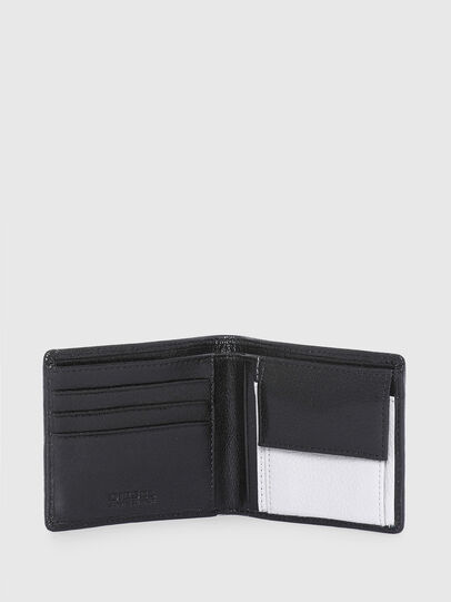 Diesel - HIRESH S, Black/White - Small Wallets - Image 3