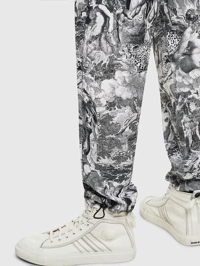 Diesel - P-TOLL-KAOS, Black/White - Pants - Image 6