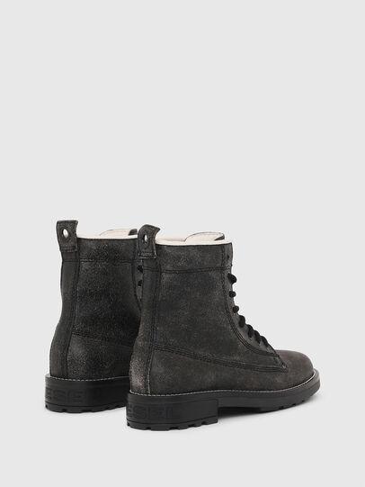 Diesel - D-THROUPER DBB W, Black - Ankle Boots - Image 3