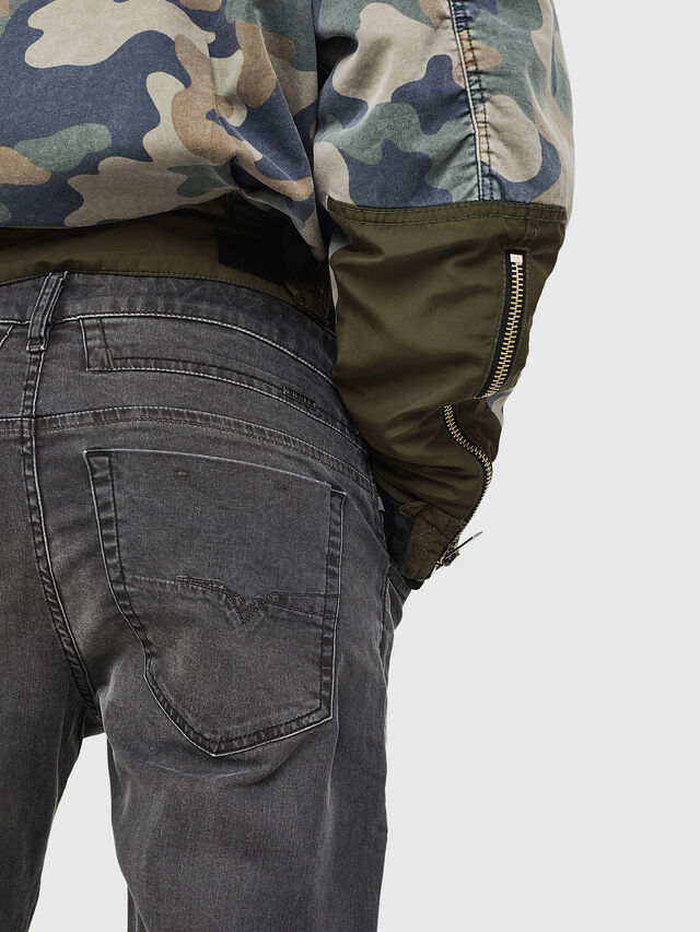 Diesel - D-Bazer 0699P, Black - Jeans - Image 3