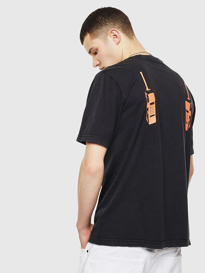 Diesel - T-JUST-T12, Black - T-Shirts - Image 2