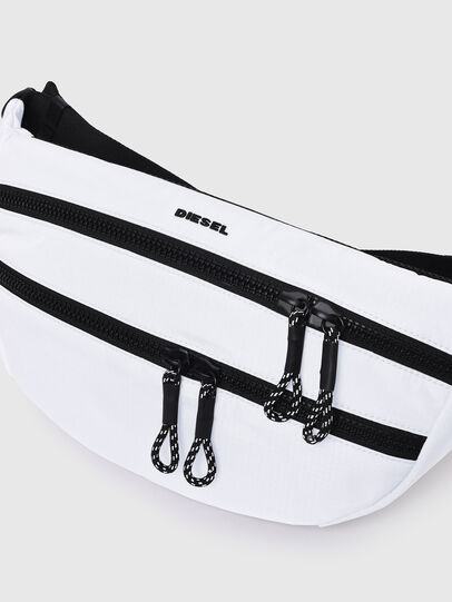 Diesel - F-URBHANITY BUMBAG, White - Belt bags - Image 5