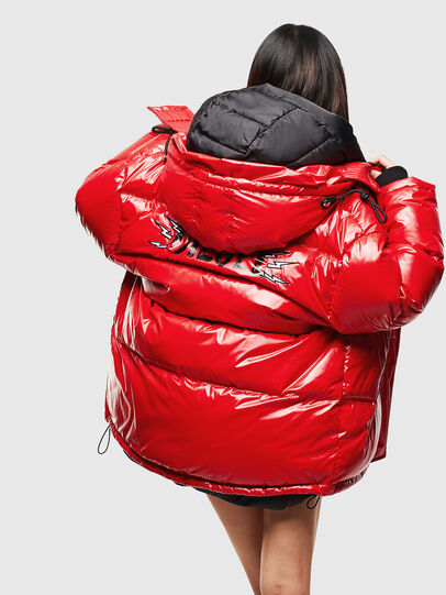 Diesel - CL-W-ALLA-LITM, Red - Winter Jackets - Image 7