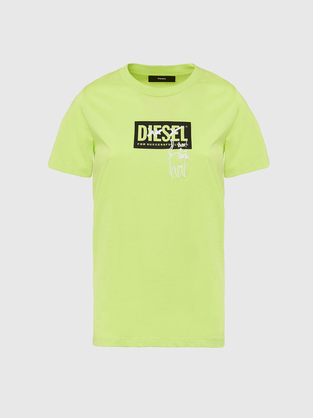 T-SILY-E52, Green Fluo - T-Shirts