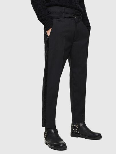 Diesel - P-HOOKY, Black - Pants - Image 1