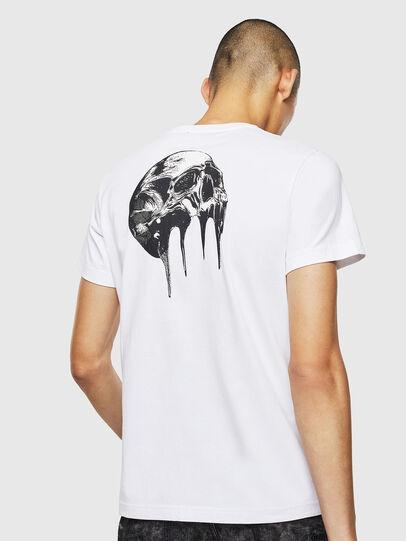 Diesel - T-DIEGO-J10, White - T-Shirts - Image 2