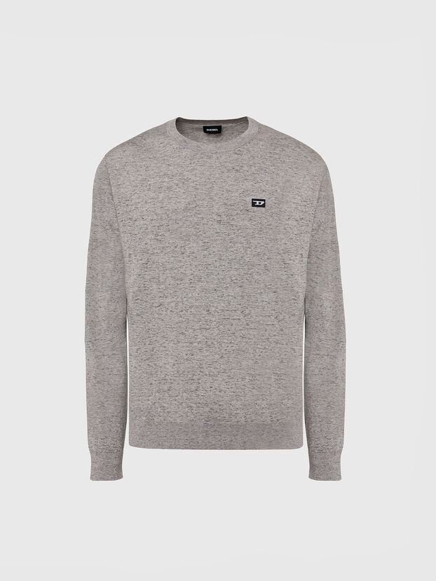 K-CROFT-TOMI, Grey - Knitwear