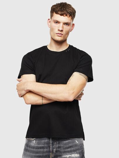 Diesel - T-GROSSI, Black - T-Shirts - Image 1