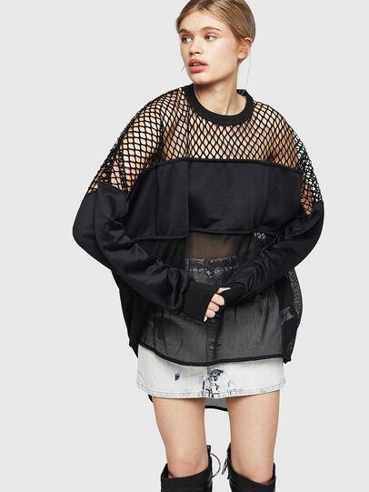 Diesel - F-SANDY-C, Black - Sweaters - Image 1