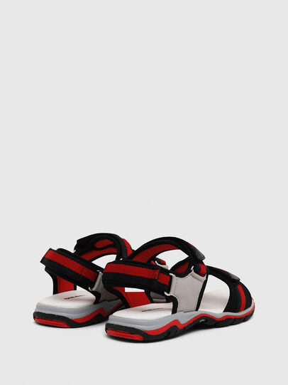Diesel - SA 07 STRIPE CH, Grey/Red - Footwear - Image 3