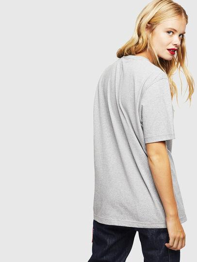 Diesel - CC-T-JUST-COLA, Grey - T-Shirts - Image 4