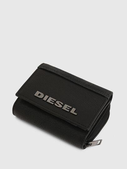 Diesel - SPEJAP, Black - Small Wallets - Image 5