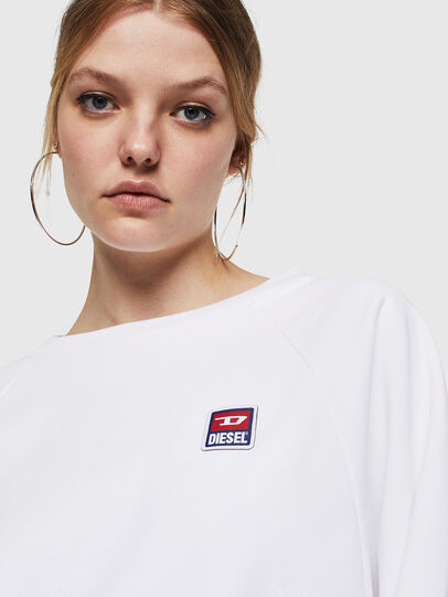 Diesel - F-HENNY-E, White - Sweaters - Image 3